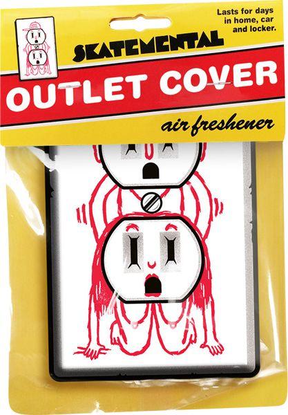 Skate Mental Outlet Cover Air Freshener