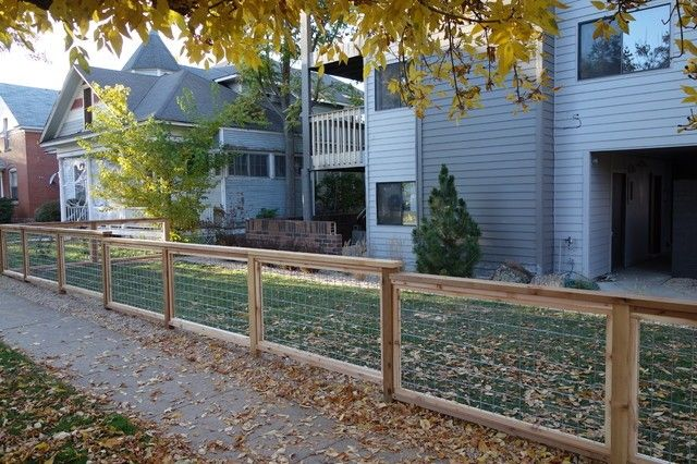 Welded wire fence uneven ground amazing welded wire fence contemporary home fencing and gates denver option<br>[v]http: www houzz com photos 6603585 welded-wire-fence-contemporary-home-fencing-and-gates-denver[v]and amazing welded wire fence door