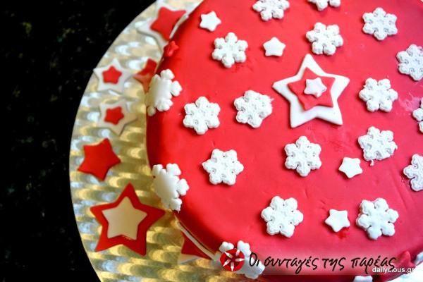 Χριστουγεννιάτικο Κέικ (Christmas Cake) #sintagespareas