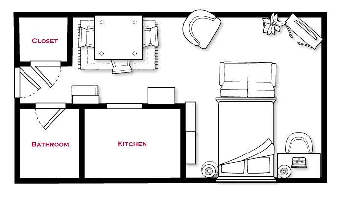 Studio Life: Arranging Furniture | How to arrange an L ...