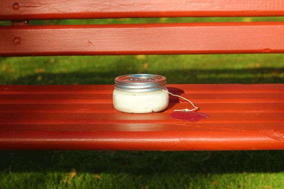 Handmade, all-natural whipped body butter