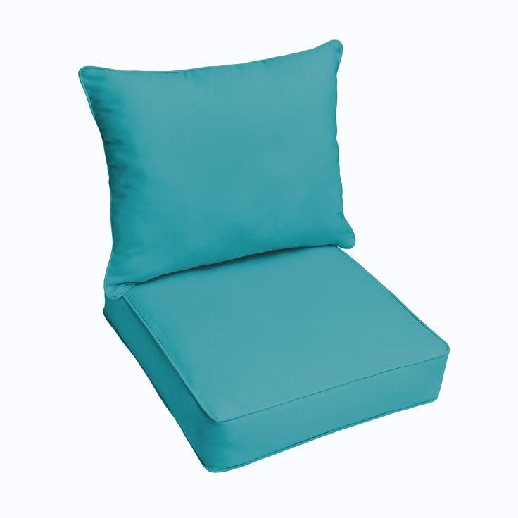 dawson sunbrella canvas aruba blue indoor outdoor drifast cushion and pillow set ospcset7498 acrylic outdoor cushion - Sunbrella Outdoor Pillows