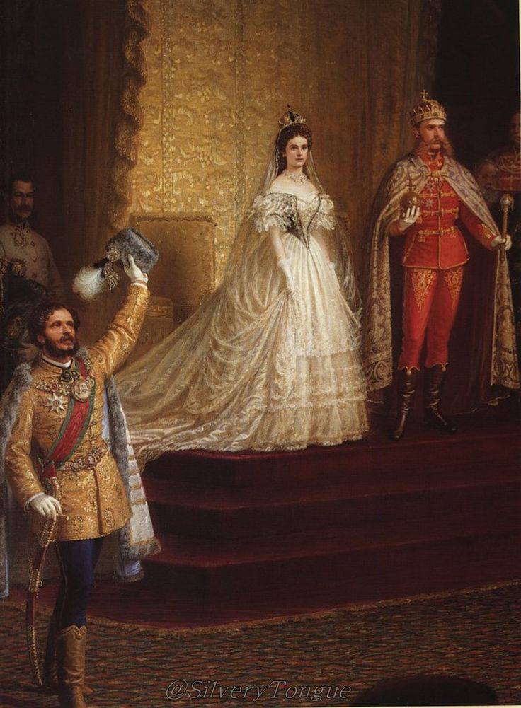 On June 8th, 1867, Emperor Franz Joseph and Empress Elisabeth were crowned king and queen of Hungary.