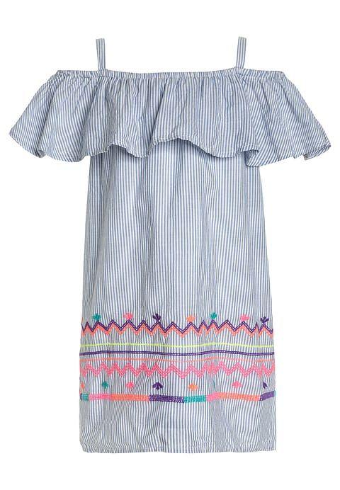 Kleding GAP OFFSHOULDER - Korte jurk - blue/multicolor Blauw: € 29,95 Bij Zalando (op 12-5-17). Gratis bezorging & retournering, snelle levering en veilig betalen!