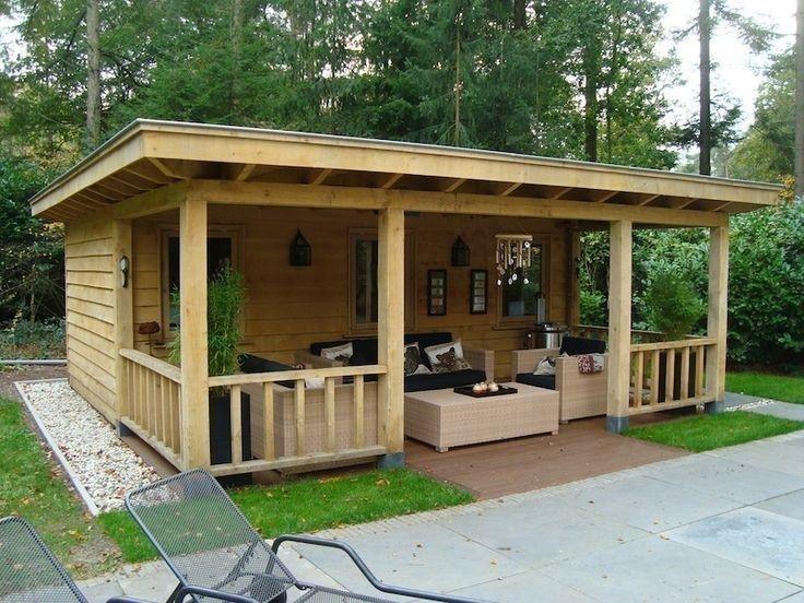 Luxury Backyard Storage Shed Design And Decor Ideas 7 Backyard
