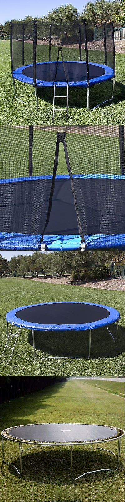 Trampolines 145999: 10Ft Trampoline Combo Bounce Jump Safety Enclosure Net W Spring Pad Ladder Us Mx -> BUY IT NOW ONLY: $195.89 on eBay!