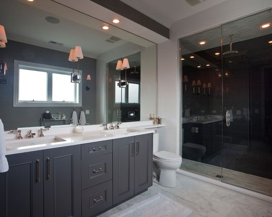 Charcoal Grey Tiles Bathroom