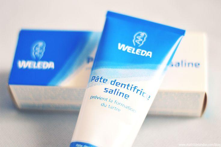 Mon avis sur le dentifrice bio de Weleda au bicarbonate de soude et au sel | Mathilde London | Blog beauté bio, naturelle et cruelty free