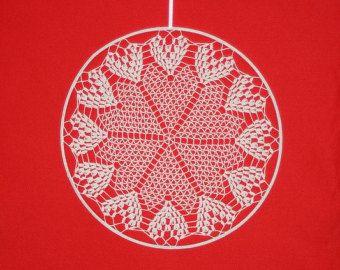 Heart Crochet Decor  #bohostyle , #bohochic , #boho , #hippiedecor , #bohemianstyle , #makatarinacorner , #etsyshop , #crochetinglove , #crochetart , #homedecor , #design , #homesign , #walldecor , #weddingdecor , #love , #lovedecor , #valentine , #valentinesday , #valentinesdecor