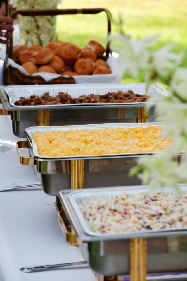 Bbq Reception Green Bean Casserole Fam Style Cheesy Mac N Cheese Home Wedding MenuWedding
