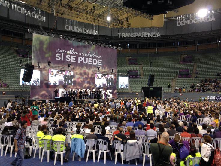Los inscritos en Podemos podrán votar entre el 4 y el 11 de febrero las candidaturas para Vistalegre II
