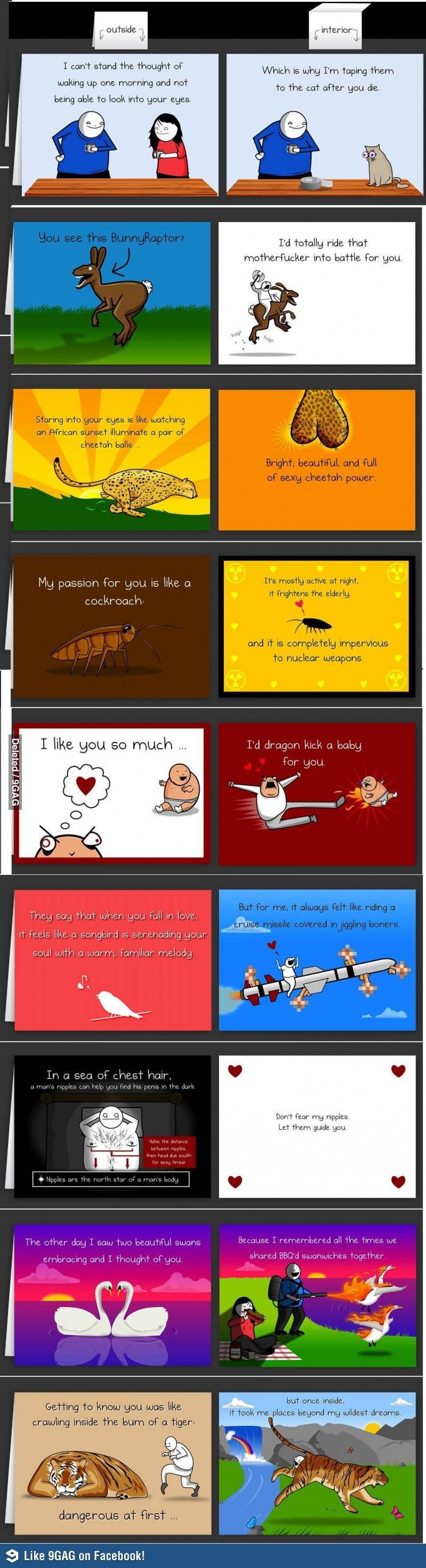 valentine's day card 9gag