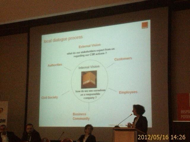 Ziua 2 - France Telecom Orange Group - procesului dialogului la nivel local