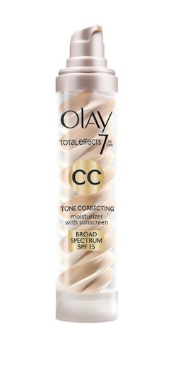 The Best CC Creams for Your Most Flawless Skin Ever: BEST FOR UNWANTED REDNESS: Olay's rich and creamy formula delivers instant color correction, particularly in resolving unwanted redness and hyper pigmentation thanks to its targeted glucosamine complex. Plus, it contains SPF 15—but won't leave you feeling greasy. Olay Total Effects Tone Correcting CC Cream with SPF 15, $24; Amazon.com.