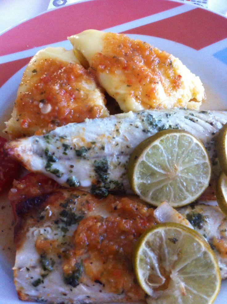Curacao #food #funchi #carribean