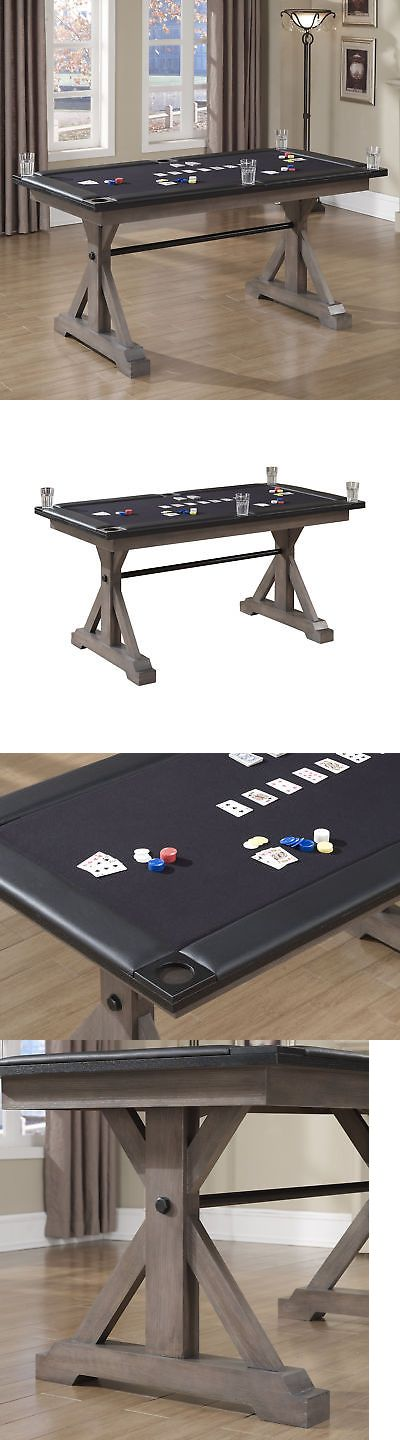 Card Tables and Tabletops 166572: American Heritage Bandit Poker Table Glacier -> BUY IT NOW ONLY: $1995 on eBay!