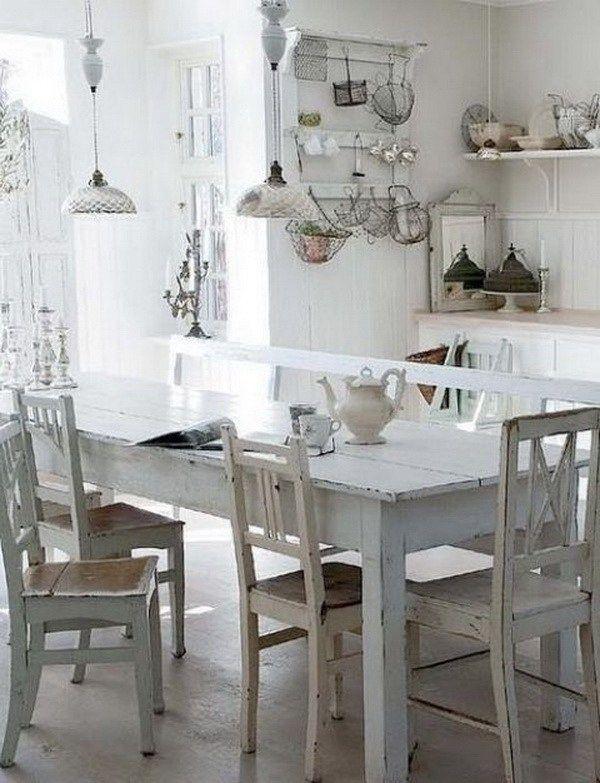 368 best Cottage style decor Kitchens images on Pinterest Dream - küche vintage look