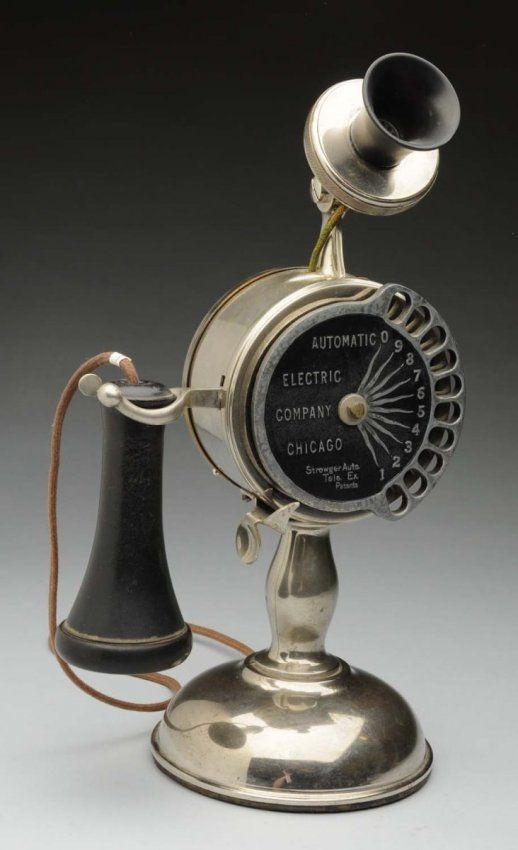Automatic Electric Co. Strowger Set, 1903