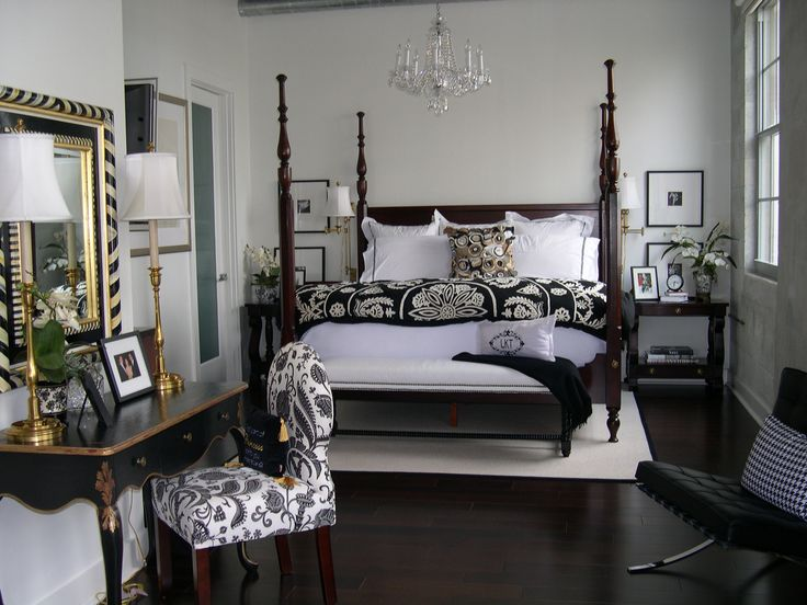 137 best black white bedrooms images on pinterest home bedrooms and bedroom ideas. beautiful ideas. Home Design Ideas