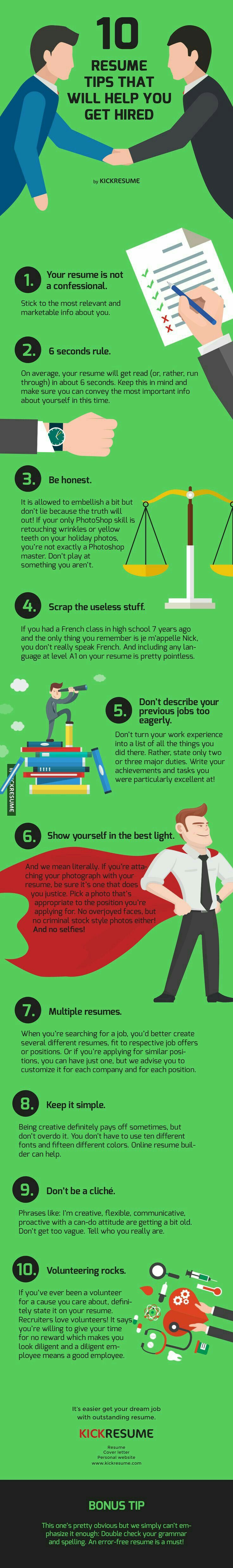 10 Resume Tips That Will Help You