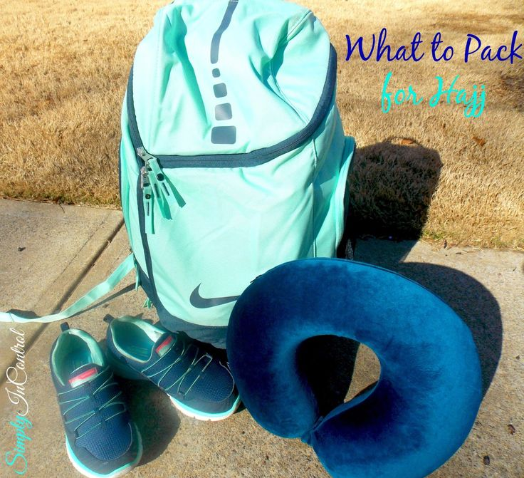 Simply in Control: What to Pack for Hajj: Part 1 {The Basics}