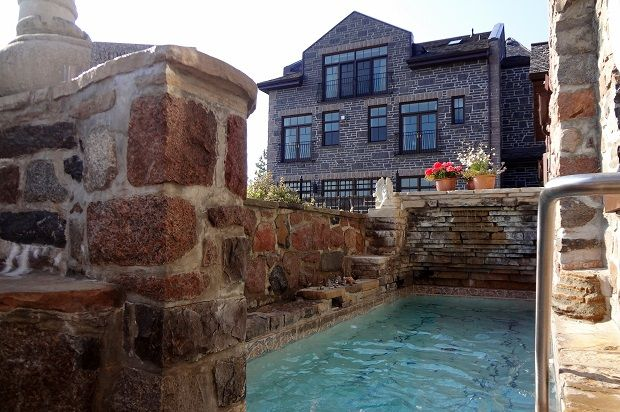 Ste. Anne's Spa, Hydrotherapy lap pool, day sp recommendation, Toronto Day Spa