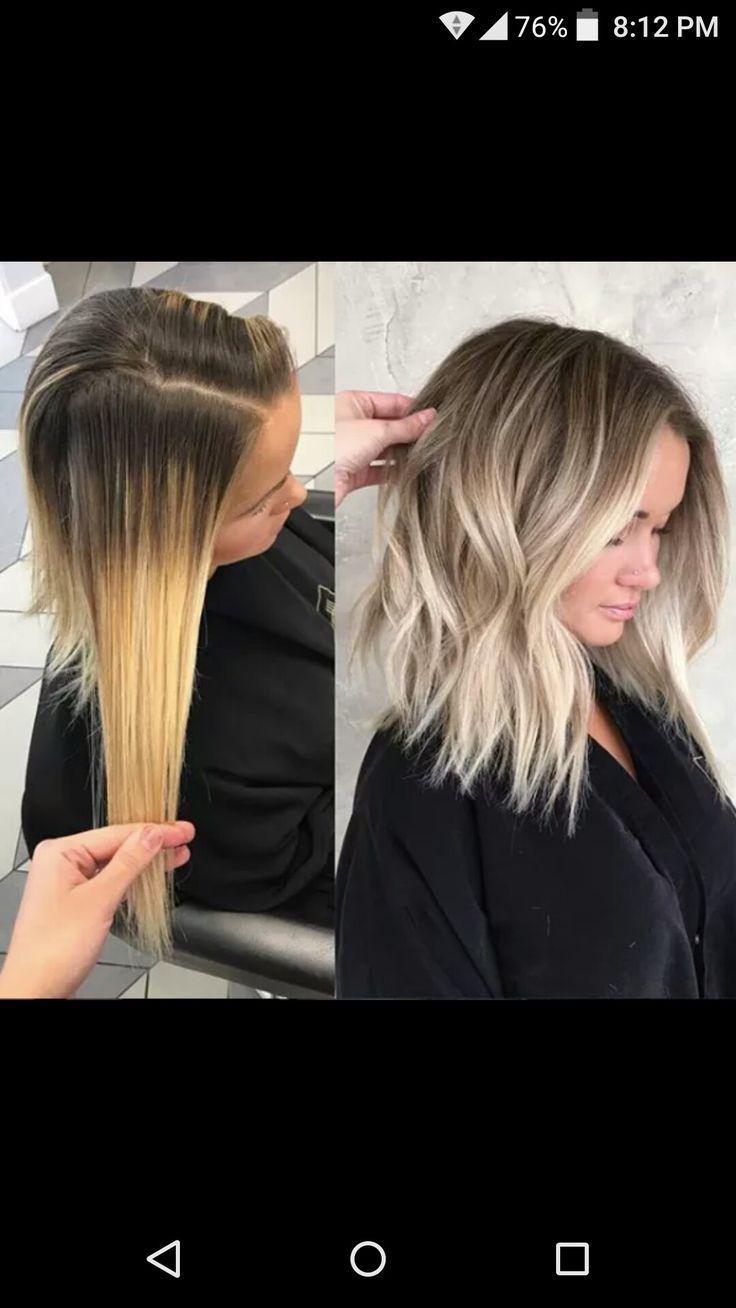 Wie diese Haarfarbe