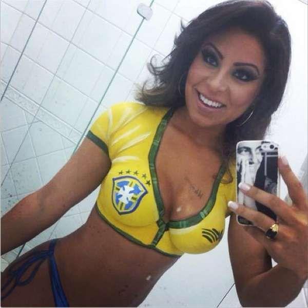 Thammy Miranda ganha foto sensual da namorada e posta na web