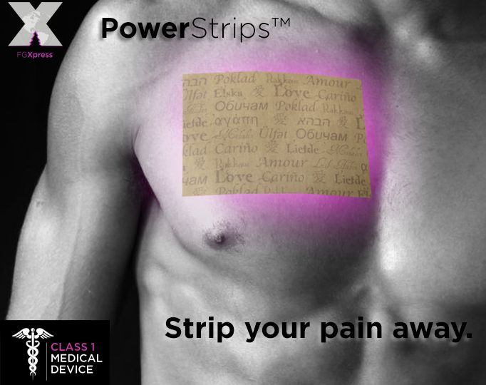 Pain effects everyone.... even athletes! FG XPRESS POWER STRIPS Doctor developed, Patented, Power Strips help answer the problem of aches and pain, energy and mental clarity. Check it out here: http://fgxpressteaminternational.com