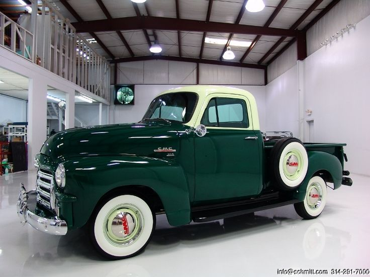 DANIEL SCHMITT & CO. PRESENTS: 1954 #GMC Series 100 pickup truck.  Visit www.schmitt.com or call 314-291-7000 for more details! #classiccars