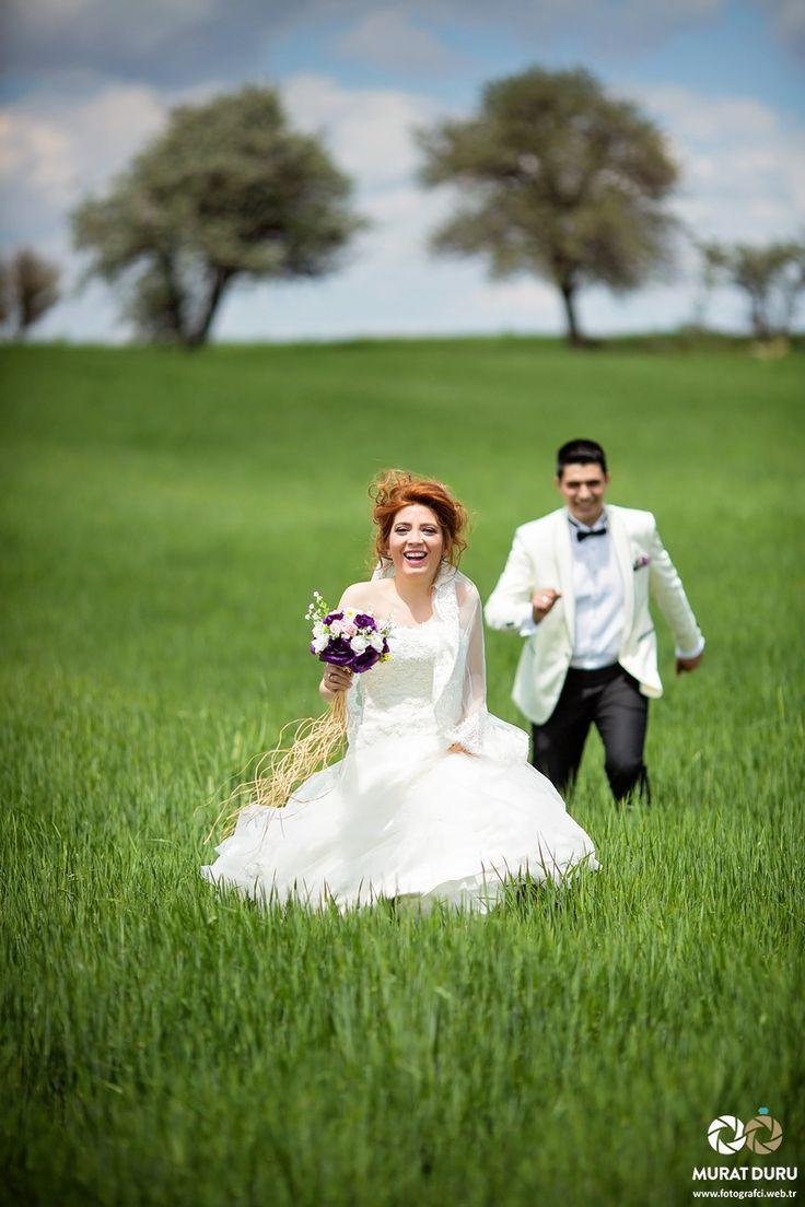 Stüdyo Dışındaki Özgürlük - Açık Alanda Düğün Fotoğrafları