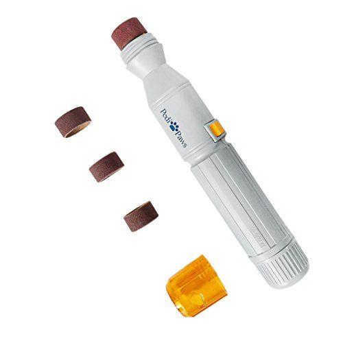 Aus der Kategorie Krallenpflege  gibt es, zum Preis von EUR 7,66  <p><b>Grundinformation:</b></p> • Material: ABS<br> • Gewicht: 235g<br> • Maße: 3.7 x 24.2 ( Durchmesser x Länge )<br><br> • Nicht schließen die Akkus ein.<br><br> <p><b>Achtung:</b></p> • Bevor nutzen sie die Nagelfeile, müssen Sie den Schutz decken.<br> • Nicht mit Wasser waschen!<br> • Müssen nicht für eine lange Zeit die Batterie zu entfernen.<br> <b>Lieferumfang</b><br><br> 1 x Nagelfeile <br> 3 x Ersatzrollen<br…