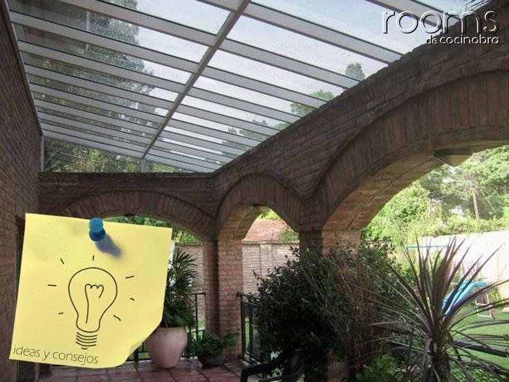 7 mejores im genes sobre terrazas en pinterest porches y - Como cerrar terraza ...