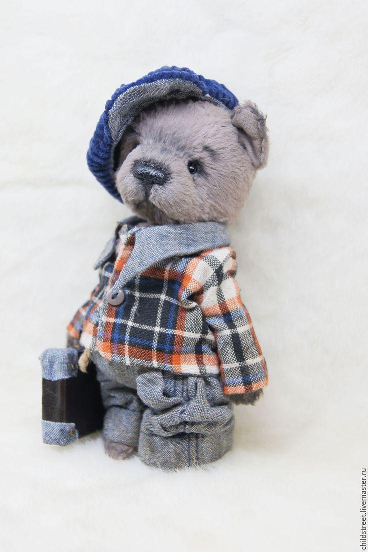 Купить Щенок Луиджи, друг Тедди - бежевый, серо-бежевый, щенок тедди, щенок