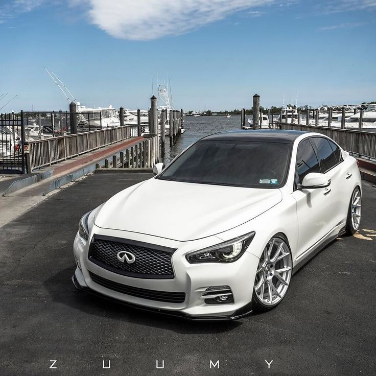 ...and beyond. #ItsWhiteNoise #Infiniti #Infinity of @elite_q50 by @zuumy