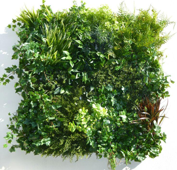 Luxury Mixed Green Foliage Panel