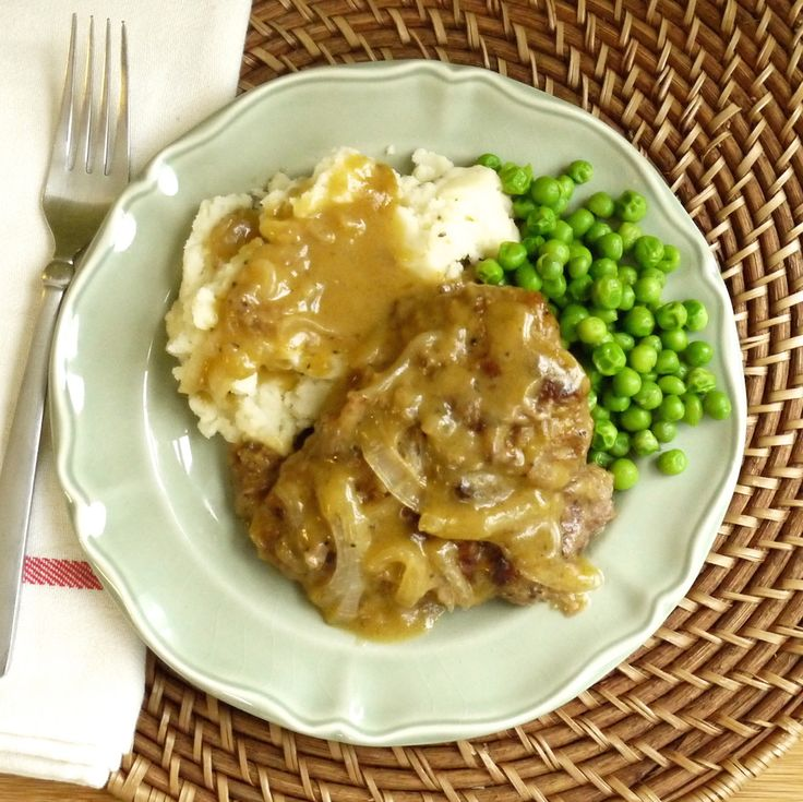 This is the best onion gravy cubed steak I've ever eaten! My family loves it, and we cook it all the time!
