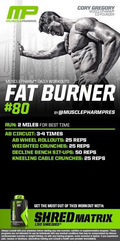 Fat burner #80