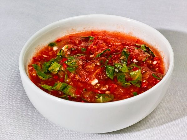 Nam prik, the classic Thai dipping sauce, is made more complex and intriguing with the addition of tomatoes. This version of the sauce is perfect alongside a grilled rib-eye. (Photo: Grant Cornett for The New York Times)