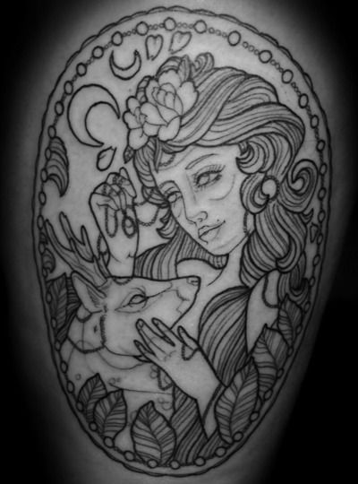 INK IT UP: INK IT UP Female Tattoo artists : Anna Enola