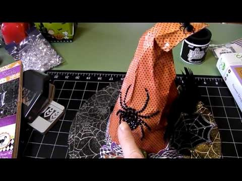 Altered Halloween Witches Hat