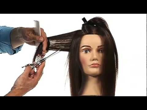 BLENDING SHEAR SLICING TECHNIQUE | In this video Sam shows you how to slide or slice cut hair using the Blending Shear. Learn more at: http://www.samvilla.com/blog/2013/05/tips-and-techniques-using-your-blending-shear/
