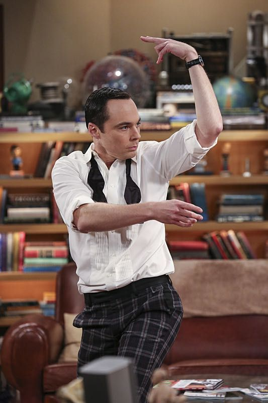 """The Brain Bowl Incubation"" -- Pictured: Sheldon Cooper (Jim Parsons). After a successful experiment combining their genes, Sheldon will stop at nothing to convince Amy they should procreate. Also, Koothrappali is embarrassed to tell the gang what the new woman he's dating does for a living, on THE BIG BANG THEORY, Thursday, Nov. 10 (8:00-8:31 PM, ET/PT), on the CBS Television Network. Photo: Michael Yarish/Warner Bros. Entertainment Inc. © 2016 WBEI. All rights reserved."