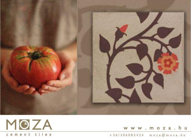 tile desig © MOZA cement tile manufactory foto © Agota Balogh