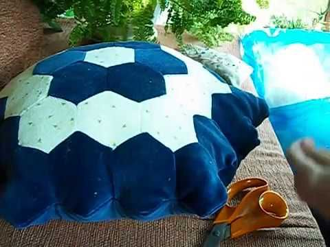Video: Patchwork pillow step-by-step