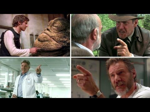 """""""Harrison Ford Angrily Points At Stuff"""" Supercut"""