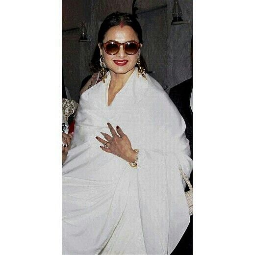 """Even At 60 Plus The Enigma That Cosmetic EMPRESS That BHANUREKHA GANESHAN Undisputedly Is Is Still Ravishingly Gorgeous & Gracesful Too!!!"""""""