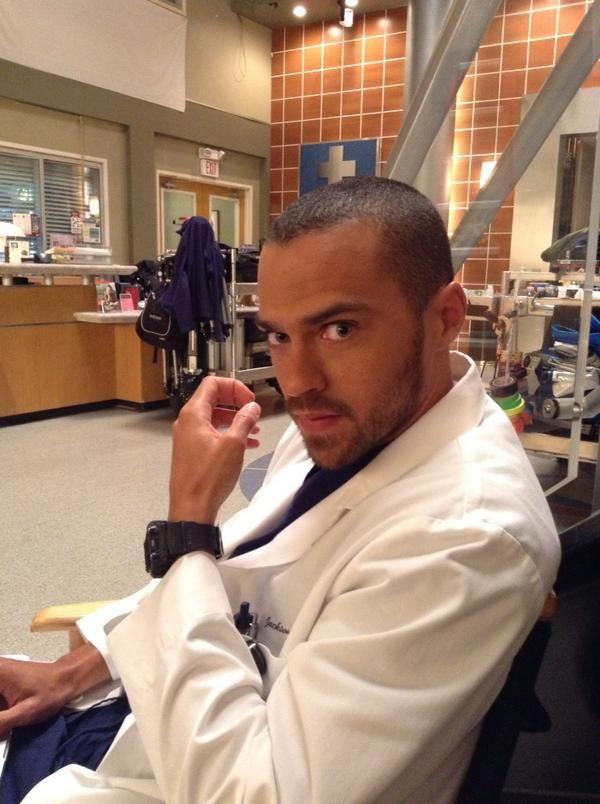 Jesse Williams (Jackson Avery). Grey's Anatomy.