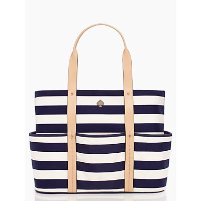 need sun, will travel. (with this tote.) the toe the line victory tote by kate spade new york. (december 2013)