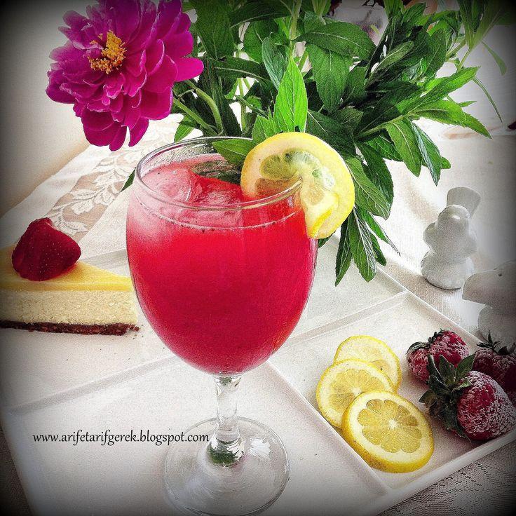 ARIFE TARIF GEREK: Cilekli Limonata